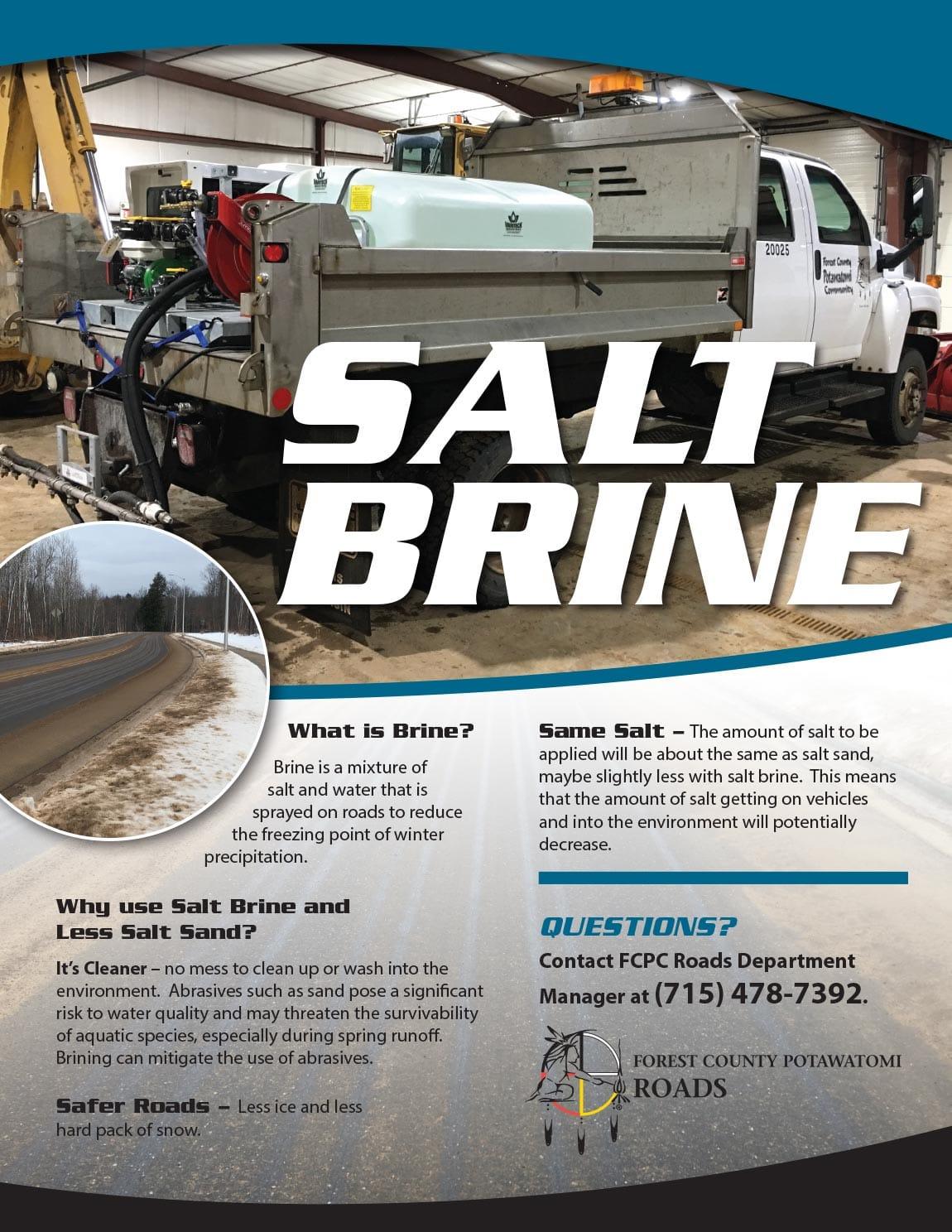 Salt Brine Flyer